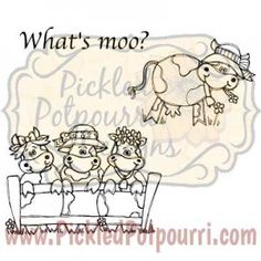 """What's Moo?"" Digital Stamp Set"