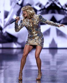 Carrie's legs! I envy her!!