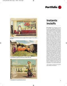 "Cover Media portfolio in ""Courier International"""