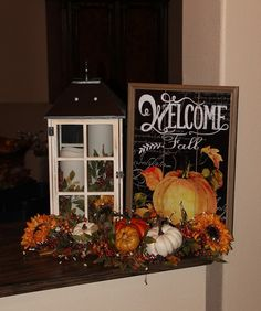 Southern Seazons: More Fall decor in the entry