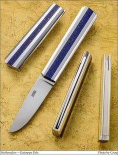 Knifemaker - Guiseppe Pala  Image - SharpByCoop