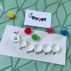 Toddler Learning Activities, Montessori Activities, Infant Activities, Preschool Activities, Kids Learning, Toddler Fun, Toddler Crafts, Crafts For Kids, Daycare Crafts