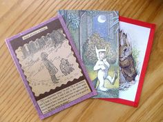 the happy honeybee: 3 handmade postcards
