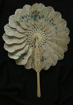 1860, 1865 - palmette, cockade rare fan