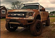 Muddy Ford SVT Raptor Truck