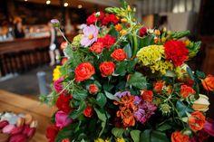 Wedding flowers - image by Goldsmith & Co.