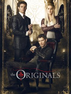 The Originals The Vampire Diaries Elijah Klaus Rebekah Elijah Mikaelson - Daniel Gillies Niklaus Mikaelson (Klaus) - Joseph Morgan Rebekah Mikaelson - C. The Originals Charles Michael Davis, Joseph Morgan, Beau Film, Serie Vampire Diaries, Vampire Diaries The Originals, The Vampire Diaries Logo, Vampire Diaries Rebekah, Vampire Diaries Poster, Series Movies