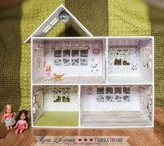 Фабрика декору: Вдохновение с Марией Лиллепруун. Кукольный домик