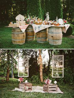 Elegant Country Picnic shoot by Shauna Ploeger