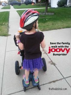 Save the Family Walk with @Joovy Bumprider — That Bald Chick®