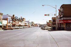 35mm Slide Cars Wyoming Street Scene Golden Eagel Mayflower Cafe 1971 Original