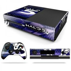 Halo 5 Decal Skin for Xbox One http://www.RocketSkins.com