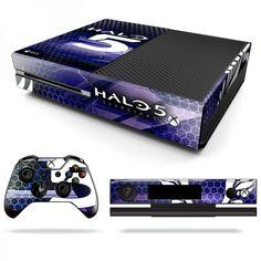 Halo 5 Decal Skin for Xbox One http://www.RocketSkins.com