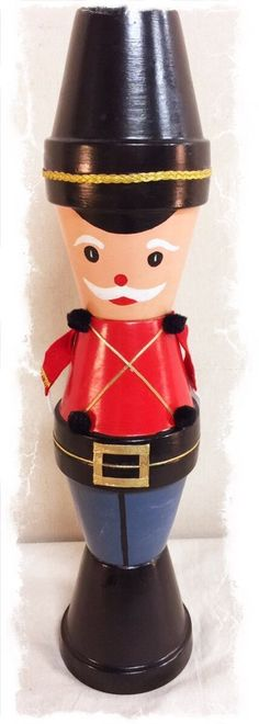 Tall Toy Soldier Holiday Table Ornament $40