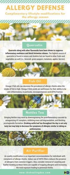 Here are several non-drowsy natural agents that may be effective at decreasing the symptoms of seasonal allergies. #allergyseason #allergies #allergy #naturalmedicine #herbalmedicine #herbalife #healingduo #allergyprevention