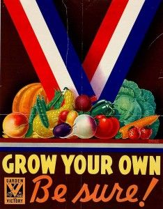 Grow your own: be sure! Yep, be sure Monsanto isn't poisoning your veggies.