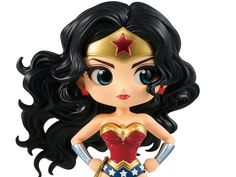Banpresto Q posket DC Comics Q posket-Wonder Woman (A:Normal color Ver)- Wonder Woman Art, Logo Wonder Woman, Wonder Woman Drawing, Wonder Woman Comic, Wonder Women, Laura Anunnaki, Comic Book Costumes, Super Heroine, Women Figure