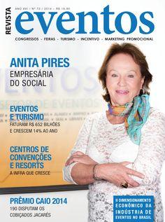 Edição 73 - Revista Eventos - Capa Anita Pires