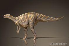 Fukuisaurus tetoriensis Dinosaur Discovery, Prehistoric Animals, Reptiles, Lion Sculpture, Statue, Dinosaurs, Artist, Artists, Sculptures