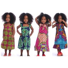 African fashion...these are darling