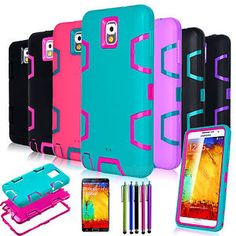 Shockproof Colorful Heavy Duty Hybrid Case Cover For Samsung Galaxy Note 3 N9000