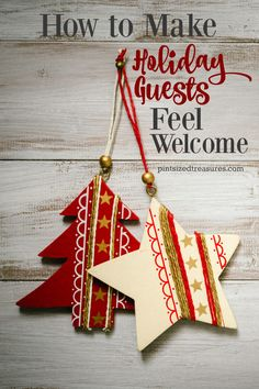 Here's what your holiday guests secretly wish you knew about making them feel welcome! @alicanwrite
