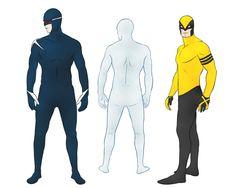 Iceman, cyclops, and wolverine superhero redesigns Comic Book Characters, Comic Character, Comic Books Art, Character Design, Comic Art, Character Inspiration, Superhero Fashion, Superhero Design, Star Trek