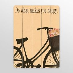 Slatted wood wall art with a cute saying and super cute fun spring look.