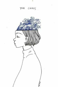 "ebriosity: - journal - ""the chaos / the calm""mind's // simple illustration drawing art artists ideas inspiration Art Inspo, Kunst Inspo, Art And Illustration, Illustrator, Esquivel, Art Graphique, Grafik Design, Art Design, Line Art"
