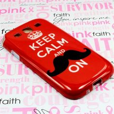 Order #Samsung #Galaxy #S #3 #i535 #i747 #L710 #T999 #I9300 #Silicone #Case - TPU Red Keep Calm with Free Shipping in The U.S.A! Come to @Acetag to get a lot of unique and beautiful designs to protect your valueable device! Love us and get the best protection for your phone! $8.99