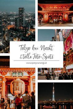 Tokyo ist bei Tag schon richtig beeindruckend, aber bei Nacht zeigt die Weltmetropole noch einmal ein ganz anderes Gesicht. Im Schein der Gassenlampen ändert sich die Stimmung auf den Straßen. Die berühmten Sehenswürdigkeiten sind prachtvoll beleuchtet und du hast sie plötzlich fast für dich alleine.