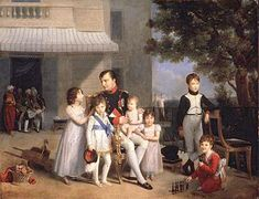 Louis Ducis 1810 - Napoleon and his Nephews and Nieces