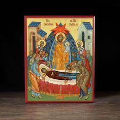 Dormition of the Theotokos (XXIc) Icon - F217 - Legacy Icons