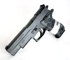 """Sig Sauer P220 Elite Nitron 10mm 5"""" [New in Box] $1099.99   MMP Guns Find our speedloader now!  http://www.amazon.com/shops/raeind"""