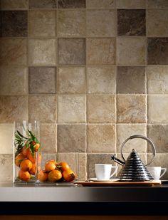 Jak vybrat obklady a dlažby do kuchyně? Kitchen Backsplash, Caramel, Kitchen Design, House Design, Bathroom, Colorful, Sticky Toffee, Washroom, Candy