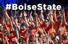 It's Homecoming - we need to make some noise on social!! Make sure you use the #BoiseState hashtag as much as you can and let's get trending today!  #BroncosHome #GoBroncos