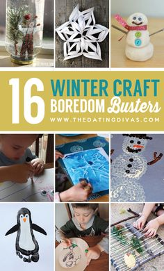 16 Winter craft boredom busters