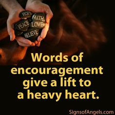 BE AN ANGEL - Encourage someone today!