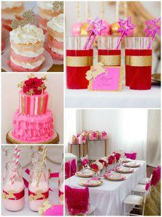 Glam Princess + Unicorns Themed Birthday Party via Kara's Party Ideas KarasPartyIdeas.com Cake, decor, tutorials, giveaways, recipes, banners and more! #glamparty #glamprincessparty #princess #princessparty #unicorn #unicornparty #glamunicornparty #karaspartyideas