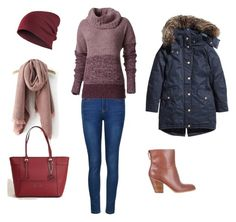 winter outfit by liliana-vaccara on Polyvore featuring moda, Royal Robbins, Ally Fashion, Nine West and GUESS