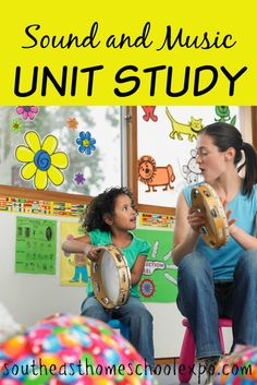 Unit studies are a great way to learn! Here is a sound and music unit study that your kids are sure to love!