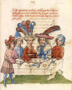 ... Lauber (Hagenau c. 1443-1446): Wolfram von Eschenbach, Parzival
