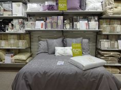 Bed and covers on Linens at Austins Newton Abbot