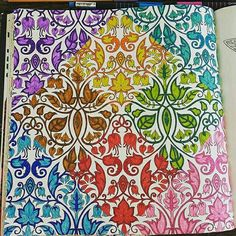 #secretgarden#esrarengizbahce Adult Coloring Book Pages, Coloring Books, Enchanted Forest Coloring Book, Johanna Basford Secret Garden, Secret Garden Coloring Book, Johanna Basford Coloring Book, Colored Pencil Techniques, Drawings, Joanna Basford