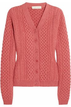 Stella McCartney Cable-knit wool cardigan | THE OUTNET
