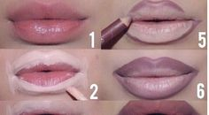 How to Apply Dark Lipsticks (Tutorial)