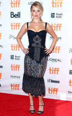 Jennifer Lawrence from 2017 Toronto Film Festival: Star Sightings  The actress attends thepremiere of her new movie mother!in Toronto.