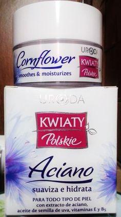 Crema Facial aciano anti-edad con aceite de semillas de uva y vitamina E no deje envejecer su piel 50 ml.
