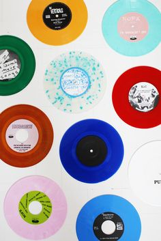 Vinyl records. #coloreveryday