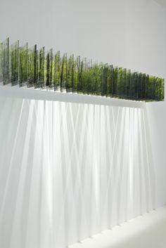 Garden Book - Landscape by Elizabeth Leriche Exposition Photo, Instalation Art, Arte Floral, Led Lampe, Light Installation, Light Art, Sculpture Art, Decoration, Interior Architecture